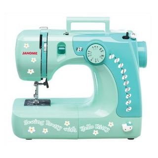 Hello Kitty Sewing Machine   Green (11706)