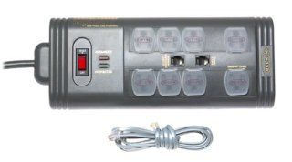 Belkin Components F5C795 TEL SurgeMaster II Gold 8 Outlet Surge Protector Electronics