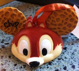 Disney Chip and Dale Mickey Mouse Ears Hat Limited Edition Ornament  Decorative Hanging Ornaments