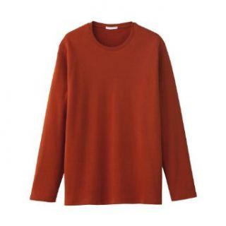 Long Sleeve Men's T shirt Burnt Orange / Brick / Burgundy Size XXL by Gap at  Men�s Clothing store