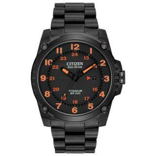 Mens Citizen Eco Drive™ Super Titanium Watch (Model: BJ8075 58F