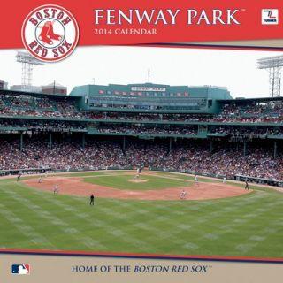 2014 Boston Red Sox Fenway Park Wall Calendar
