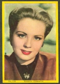 Mexican actress Rosario Granados 3x5 pic Argentina 1959: Entertainment Collectibles