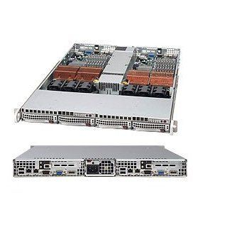 SUPERMICRO CSE 808T 980V SUPERMICRO CSE 808T 980V 980W PS 4 X 3.5 HOT SWAP SAS SATA 1U SI (CSE808T980V): Computers & Accessories