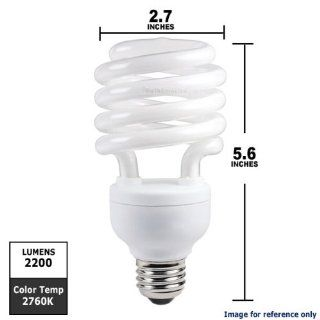 Philips 156398   EL/MDT 32W TWISTER Twist Medium Screw Base Compact Fluorescent Light Bulb   Spiral Shaped Compact Fluorescent Bulbs