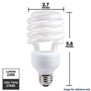 Philips 156398   EL/MDT 32W TWISTER Twist Medium Screw Base Compact Fluorescent Light Bulb   Spiral Shaped Compact Fluorescent Bulbs