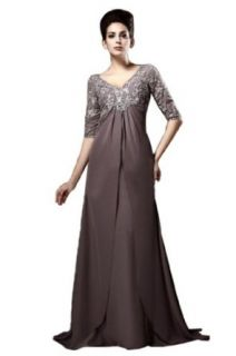 IBEAUTY DRESS Mother's Chiffon Trailing Wedding Dress Plus Size at  Women�s Clothing store: