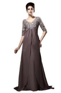 IBEAUTY DRESS Mother's Chiffon Trailing Wedding Dress Plus Size at  Women�s Clothing store: