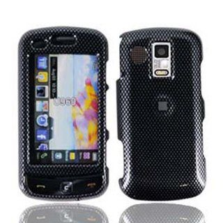 For Samsung U960 Rogue Accessory   Carbon Fiber Designer Hard Case Cover with LF Screen Wiper Cell Phones & Accessories