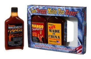 Pappy's Denim Barbecue Sauce Gift Pack  Gourmet Sauces  Grocery & Gourmet Food