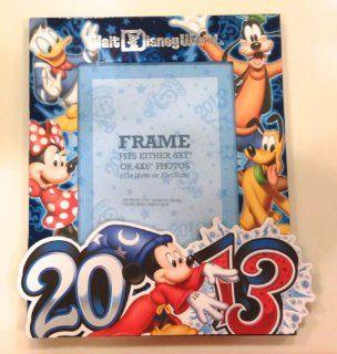 Disney World 2013 Mickey Mouse 5 x 7 inch Photo Frame NEW