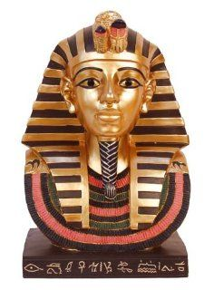 Shop Bust of King Tut Tutankhamen 12 Inches at the  Home D�cor Store. Find the latest styles with the lowest prices from Sunshine Joy