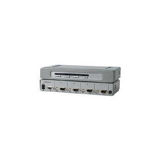 Belkin OmniView Secure 4 Port KVM Switch   KVM switch   USB   4 x KVM port(s)   1 local user   desktop   OMNIVIEW SECURE 4PT KVM EAL4 NIAP USB IN/OUT: Computers & Accessories