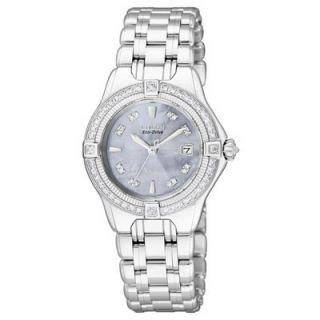 Ladies Citizen Eco Drive™ Signature Quattro Series Diamond and