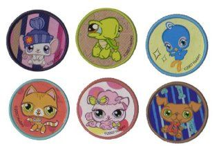 Littlest Pet Shop Cupcake Rings   Set of 12: Toys & Games