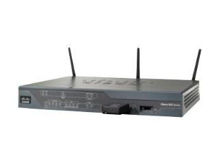 Cisco C881W A CVO K9 881W Integrated Services Router for CVO   Wireless router   4 port switch   802.11b/g/n (draft 2.0)   desktop: Electronics
