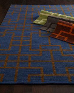 Interlock Maze Rug, 79 x 1010
