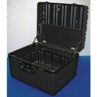 "Jensen Tools 2B909 8C D Roto Rugged Case, Empty. 10"" Deep   W/O Wheels   Tool Bags"