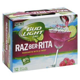 BUD LIGHT RAZZ BER ITA 12PK