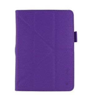 rooCASE Asus Memo Pad FHD 10 ME302C Origami Folio Case Cover   Purple (with Pen Stylus) Computers & Accessories