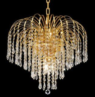 Elegant Lighting 6801D19G/SA chandelier   Lampshades