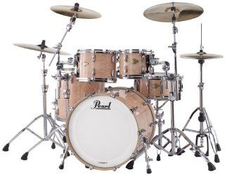 Pearl MCX924XP/C MCX 4 Piece Drum Set   Natural Birdseye Maple Musical Instruments