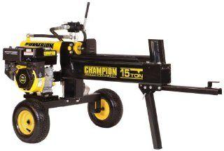 Champion Power Equipment 91520 Log Splitter, 15 Ton : Gas Log Splitter : Patio, Lawn & Garden