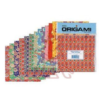 Aitoh Origami Paper 5 7/8 in. x 5 7/8 in. Washi Chiyogami 24 sheets