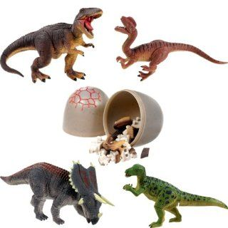 4d Dino Puzzles Set of Four Dinos: Toys & Games