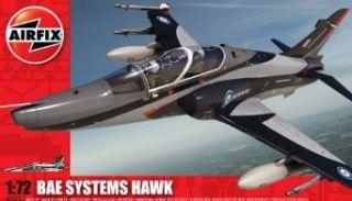 Airfix A03073 172 Scale BAe Hawk 128/ 132 Military Aircraft Classic Kit Series 3 Toys & Games