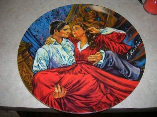 Knowles Scarlett And Rhett Collector Plate Kitchen & Dining