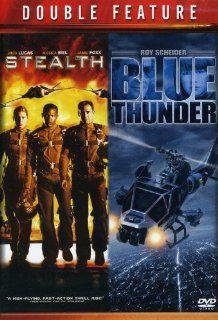 Stealth & Blue Thunder (Double Feature): Roy Scheider, Josh Lucas, Jessica Biel, Jamie Foxx, Malcolm McDowell, Rob Cohen, John Badham: Movies & TV