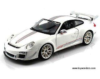 11036w Bburago   Porsche 911 Gt3 Rs 4.0 Hard Top (118, White) 11036 Diecast Car Model Auto Vehicle Die Cast Metal Iron Toy Transport Toys & Games