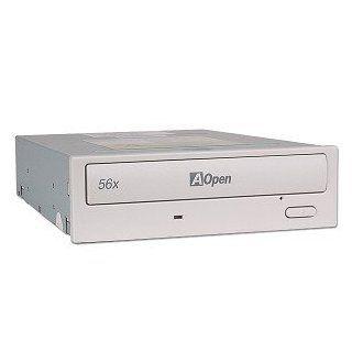 AOpen CD 956B 56x CD ROM IDE Drive w/Extra Silver Bezel (Beige): Electronics