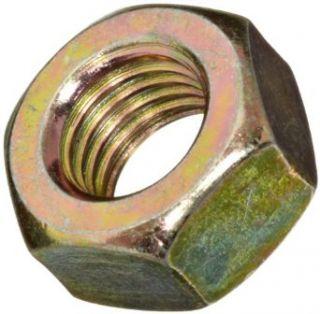 Brass Hex Nut, Plain Finish, DIN 934, Metric, M24 3 Thread Size, 36 mm Width Across Flats, 19 mm Thick Industrial & Scientific