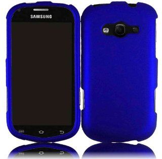 For Samsung Galaxy Reverb M950 Hard Cover Case Blue Cell Phones & Accessories
