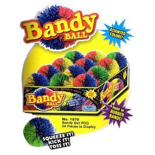 Ja Ru Bandy Ball 24 Count Colors May Vary (Pack of 24): Toys & Games