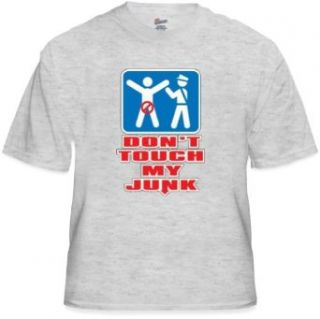 Don't Touch My Junk Airport Security T Shirt #999 box Clothing