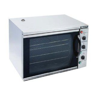 Adcraft Countertop Stainless Steel Convection Oven with Grill Broiler, 22 x 31 x 21.5 inch    1 each. Industrial & Scientific