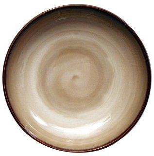 Sango Nova Brown 13 Inch Round Serving Bowl: Kitchen & Dining