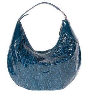 GUCCI Blue Patent Leather Horsebit Hobo Handbag Purse   Jade Boutique Clothing