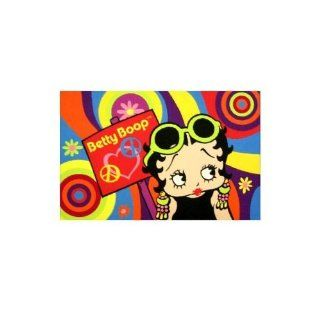 "Psychedelic Betty Boop Area Rug   39"" x 58"""