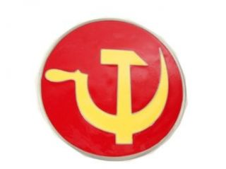 Great American Products Hammer And Sickle Belt Buckle Clothing