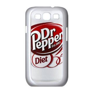 Funny Dr Pepper Diet Galaxy S3 Slim fit Hard Plastic Case: Cell Phones & Accessories
