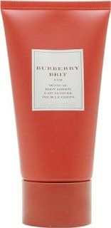 Burberry Brit Red By Burberry For Women. Body Lotion 5 Ounces  Beauty