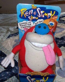 Ren & Stimpy   Stimpy Rude Toot Doll Figure By Mattel: Toys & Games