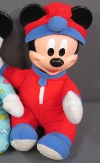 Glow Worm Plush & Vinyl Baby Mickey Mouse: Everything Else