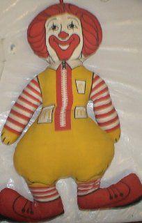 "Vintage Plush Doll  12"" Mcdonalds Ronald Mcdonald Toys & Games"