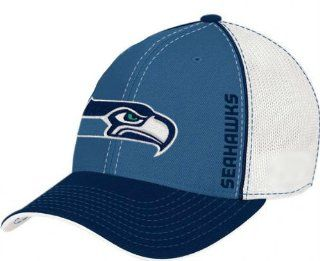 Seattle Seahawks NFL Team Colors Hat With Lime Green Accent   Snapback Adjustable One Size Fits All : Sports Fan Beanies : Sports & Outdoors