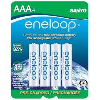 eneloop AAA 1800 cycle, Ni MH Pre Charged Rechargeable Batteries, 4 Pack (discontinued by manufacturer): Electronics